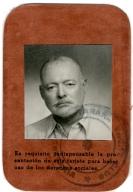 Cuban ID Card, Ernest Hemingway