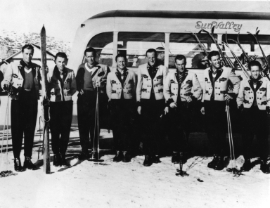 Sun Valley Ski School instructors, 1936-1937