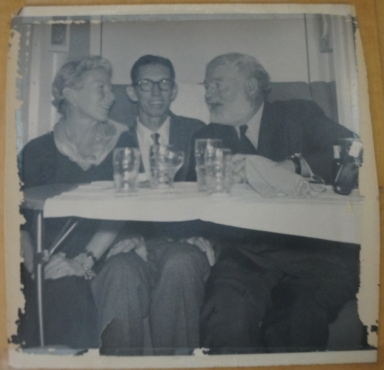 Ernest, Mary, and Friend at Party