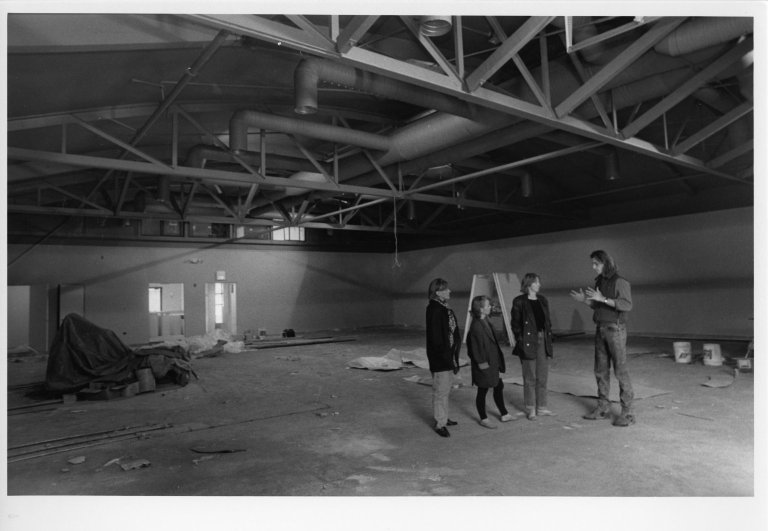 [Nex Stage Theater interior., Wood River Journal photo morgue.]
