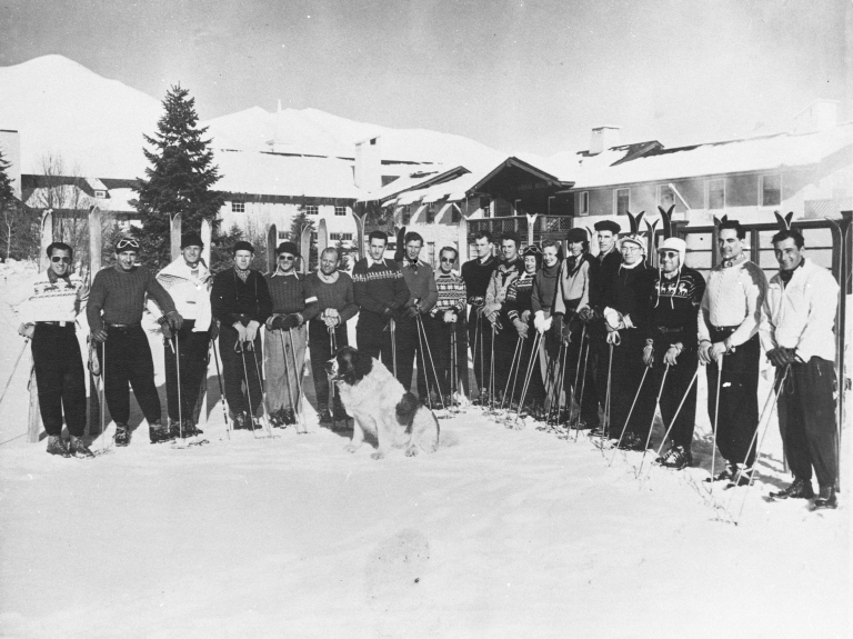 Sun Valley ski instructors, 1946-1947