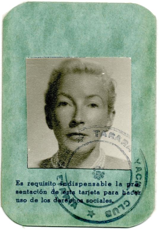 Cuban ID Card, Mary Hemingway