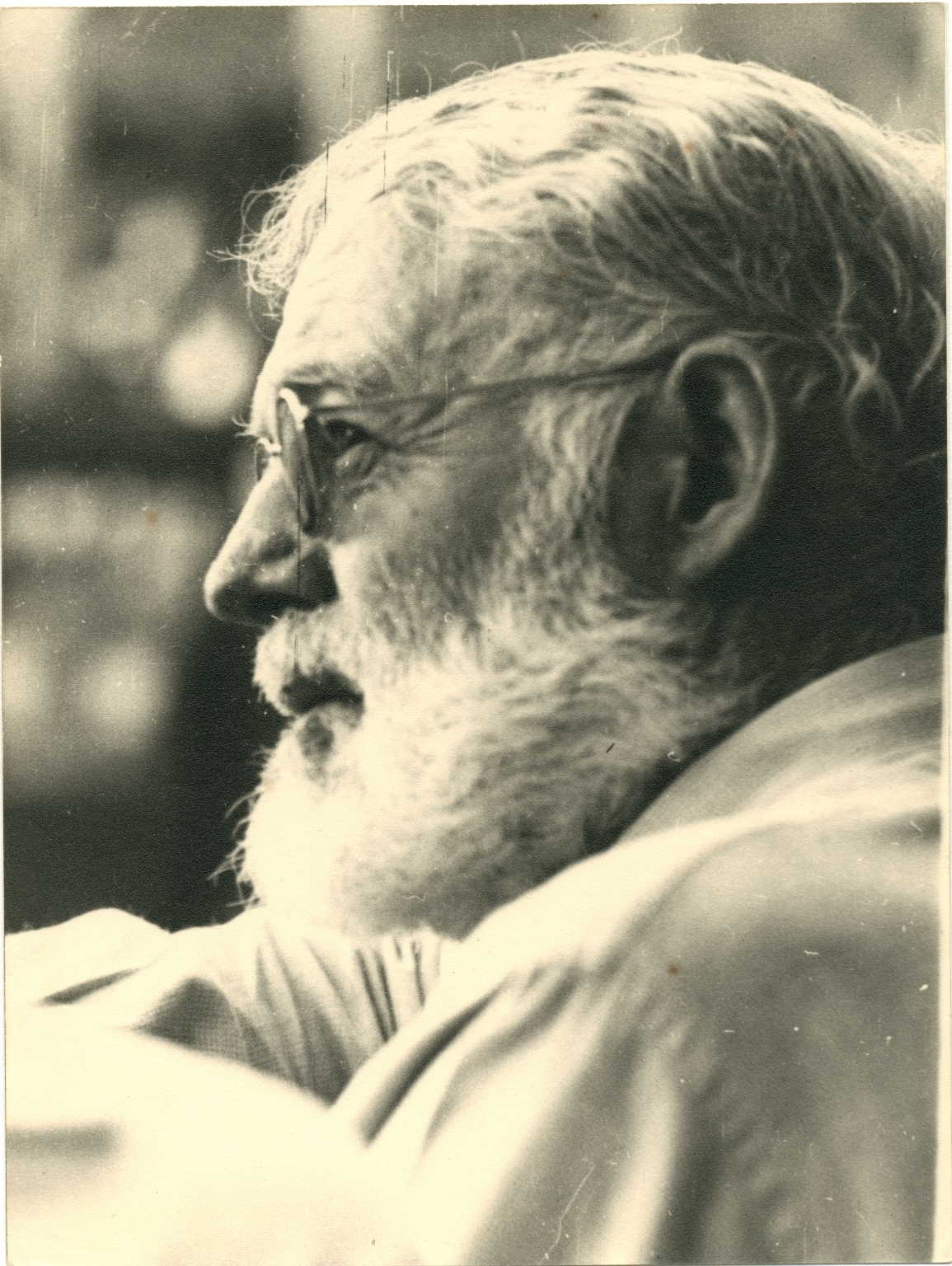 Portrait of Ernest Hemingway, Left Profile